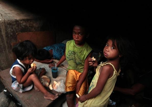 Дети на Филиппинах питаются хуже, чем в Центральной Африке