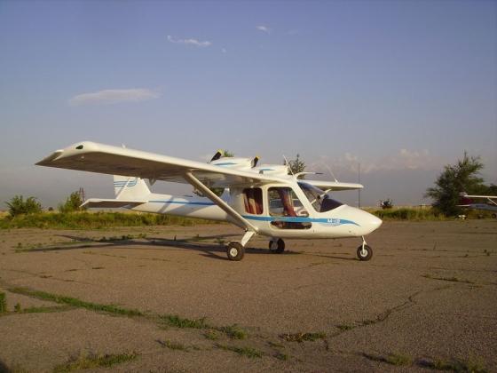 Легкомоторный самолет М-12.