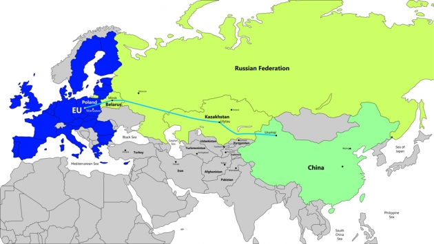 В Казахстане предложили создать контейнерный мост между Европой и Китаем
