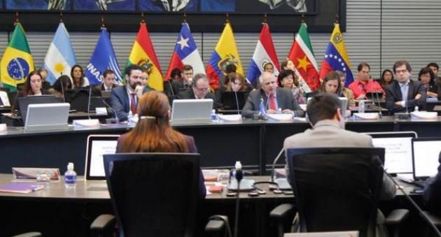 Министры культуры двенадцати стран-членов Союза южноамериканских наций собрались вместе.