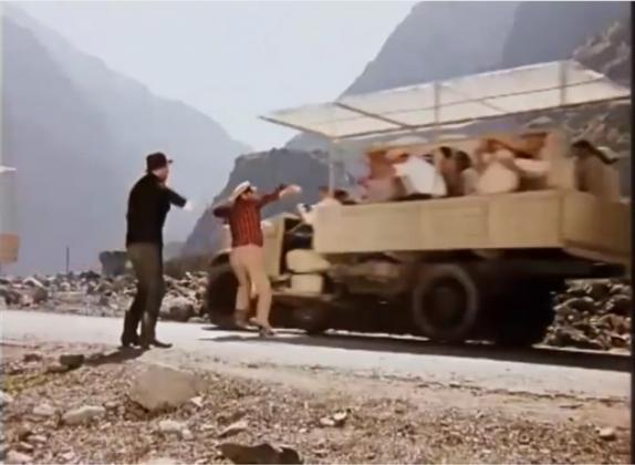 Цитата из х/ф «12 стульев» (реж. Л. Гайдай, 1971)