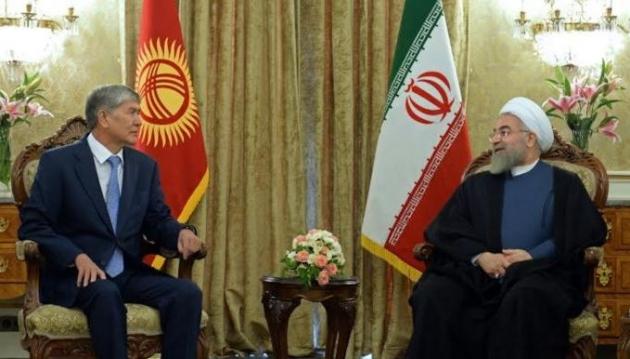 Алмазбек Атамбаев и Хасан Роухани.