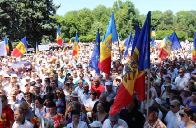 Протесты нон-стоп в Молдавии: «Если продержатся пару суток, власть падет»