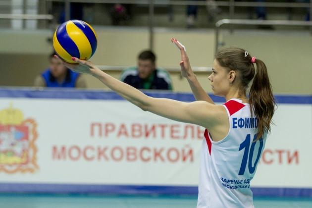 Женский волейбол.
