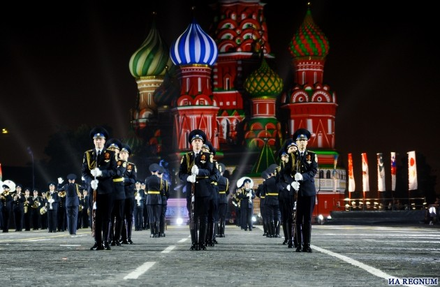 Восьмой фестиваль «Спасская башня» открылся в Москве: фоторепортаж