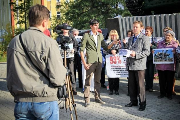 Жители моногорода просят президента РФ ввести госпланирование— видео