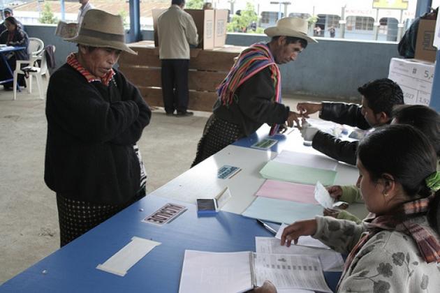 Выборы в Гватемале.