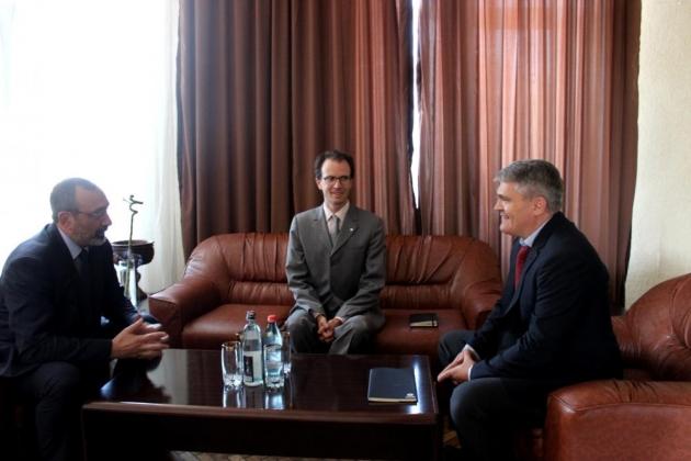 Глава МИД НКР встретился с руководителем миссии МККК в Степанакерте