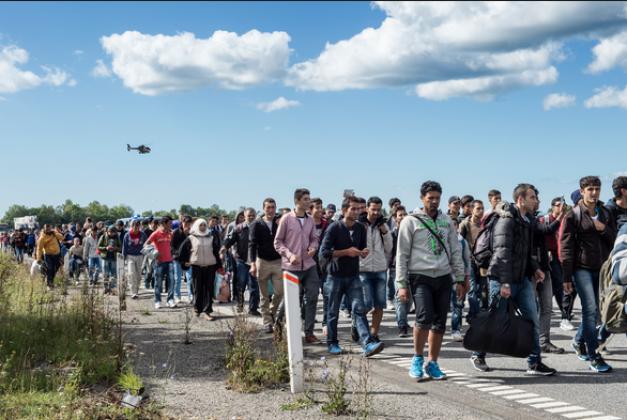 Бельгия отправляет беженцев обратно.