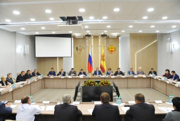 Заседание совета банков в Чувашии. Фото Бориса Филатова, с официального портала органов власти республики