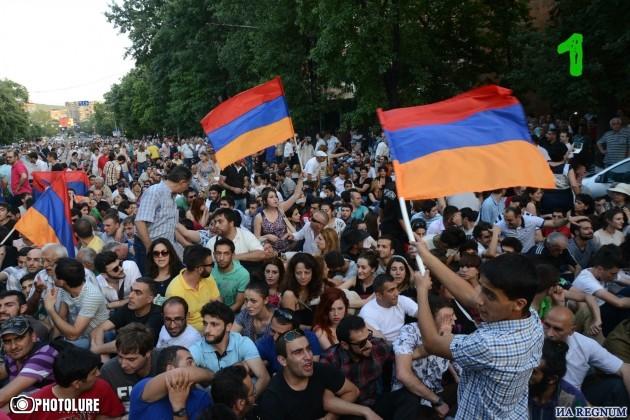 Доказательства для Александр Бастрыкина: «майдана» в Ереване не было