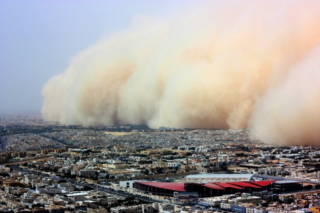 Песчаная буря.