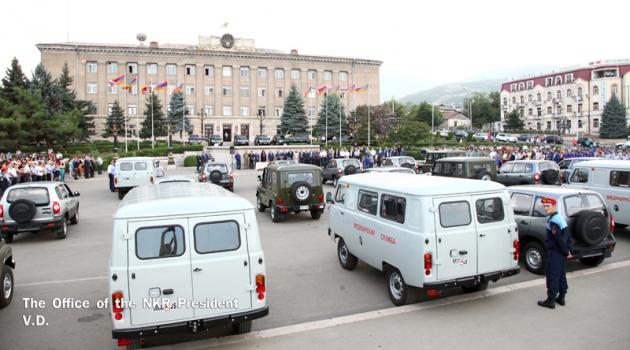 Российский предприниматель подарил Нагорному Карабаху автомобили
