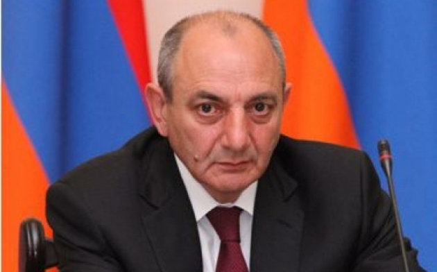 Бако Саакян— Президент Нагорно-Карабахской Республики