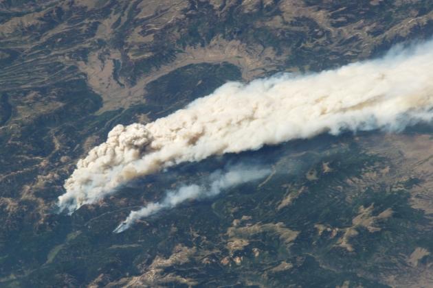 Облака дыма накрыли Индонезию, Малайзию и Сингапур
