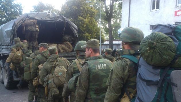 Калининградские солдаты поняты по тревоге. Фото предоставлено штабом Балтфлота.