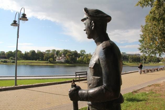 В Пскове вновь пострадал от вандалов памятник солдатам Первой мировой войны