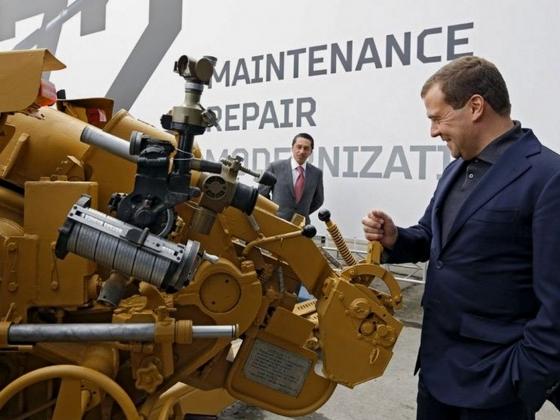 Дмитрий Медведев прибыл на Russia Arms Expo — 2015