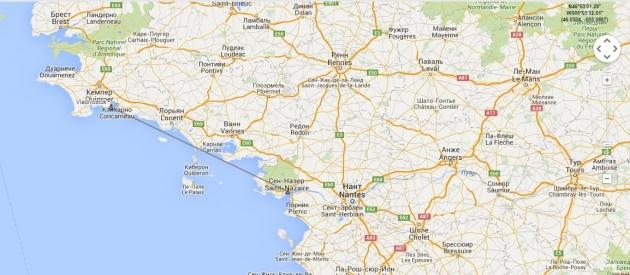 Один из «Мистралей» вышел из порта Сен-Назер в Бискайский залив