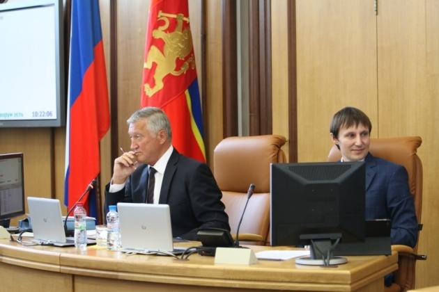 Красноярский горсовет без председателя: «Работа не парализована»