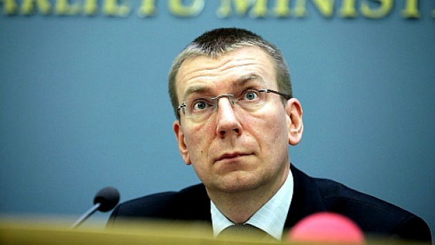 Министра иностранных дел Латвии Эдгар Ринкевич. Изображение: rus.tvnet.lv