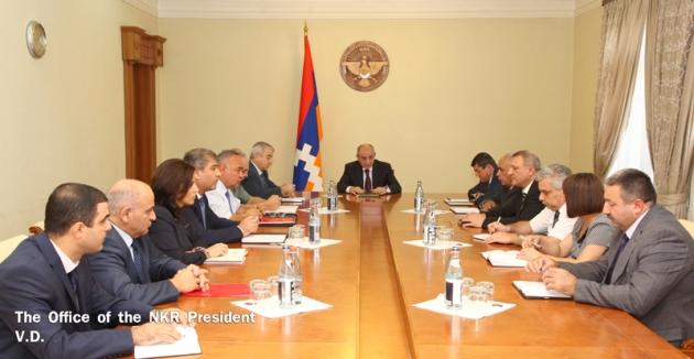 Президент Нагорного Карабаха провёл совещание по подготовке к выборам