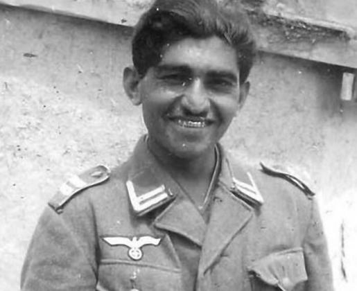 Гитлеровский солдат из состава «восточных» военных формирований Третьего Рейха