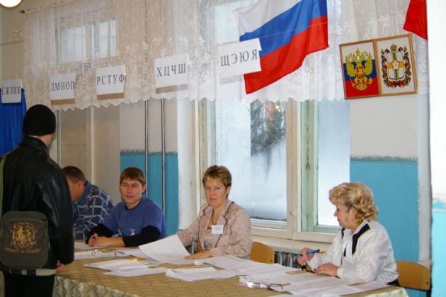 Голосование в муниципальных районах. Фото: omsk.izbirkom.ru