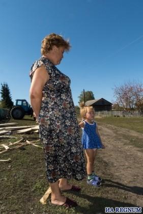 Наталья Виноградова с дочкой Анжелой