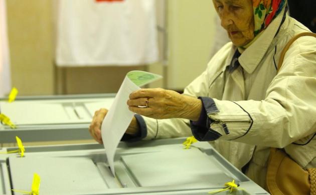 Голосование в Кемеровской области. Фото: kemoblast.ru