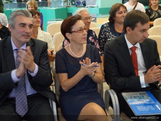 Гости торжественных мероприятий, посвященных дню рождения Германа Титова