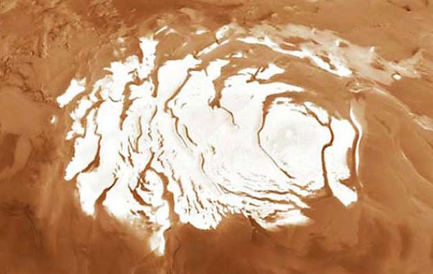 Ученые: На Марсе систематически выпадает снег