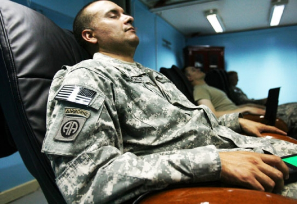 «Хорошие условия жизни» для военных США в Эстонии.