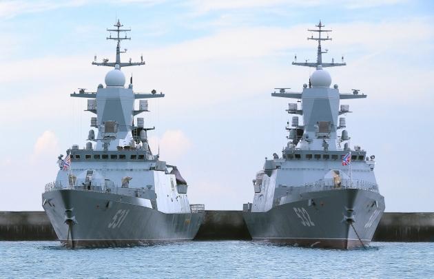 Корветы Балтийского флота.