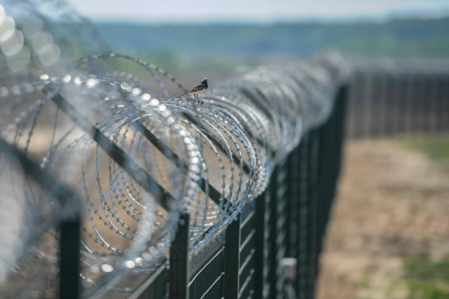 Венгрия ограждается стеной от Румынии.