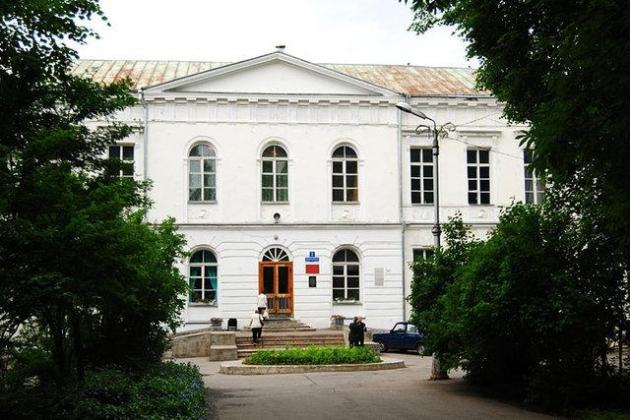 Здание Путевого дворца Екатерины II в Великом Новгороде.
