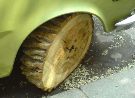 Изобретение колеса.