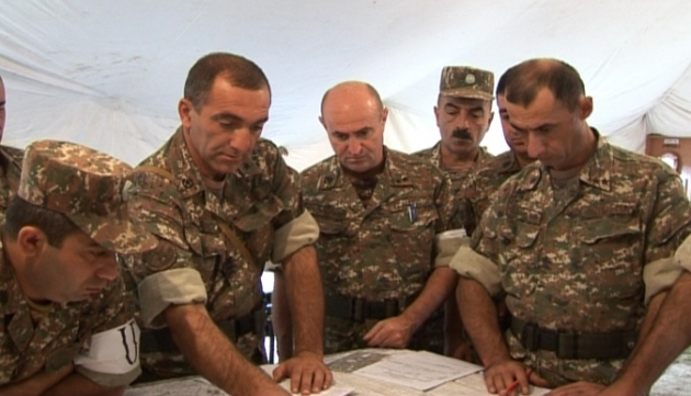 Армия обороны НКР провела четырёхэтапные командно-штабные учения