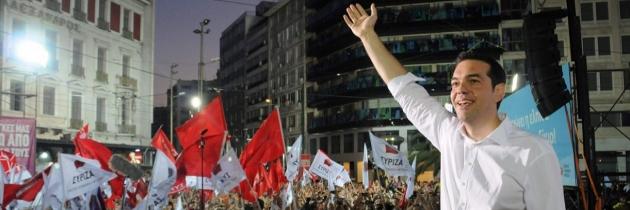 А.Ципрас. Победа коалиции радикальных левых.