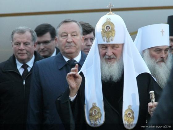Барнаульскую епархию Алтайской митрополии посетил патриарх Кирилл