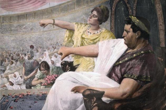 Вильгельм Петерс. Амфитеатр (XIX век)