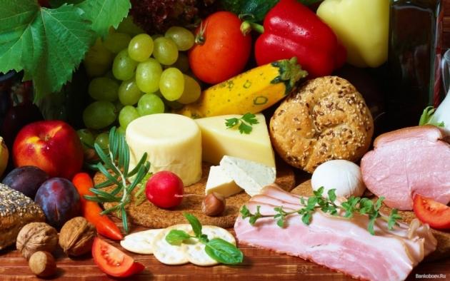 Продукты питания, фото zamanula.ru