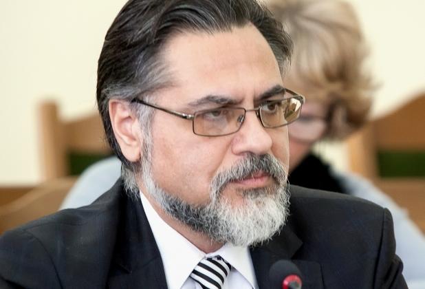Уполномоченный представитель ЛНР Владислав Дейнего.