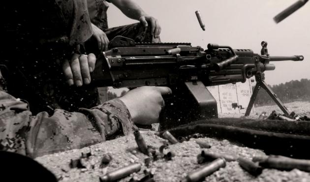 Пулеметчик.