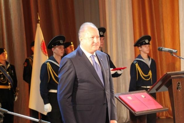 Владимир Илюхин присягнул на верность Камчатке