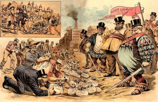 Самуэль Эрхардт. История повторяется. Бароны разбойники средних веков и наших дней (1889)