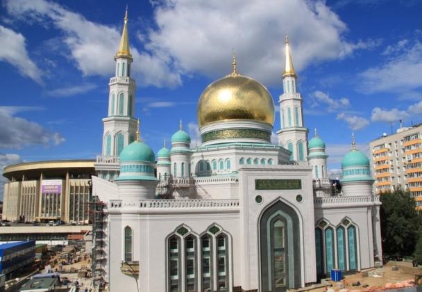 Соборная мечеть. Москва.