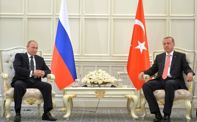 В.В.Путин и Р.Т.Эрдоган. 13.06.2015.