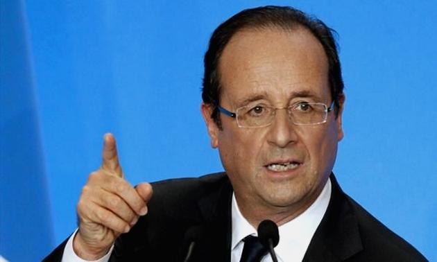 Президент Франции Олланд Франсуа.