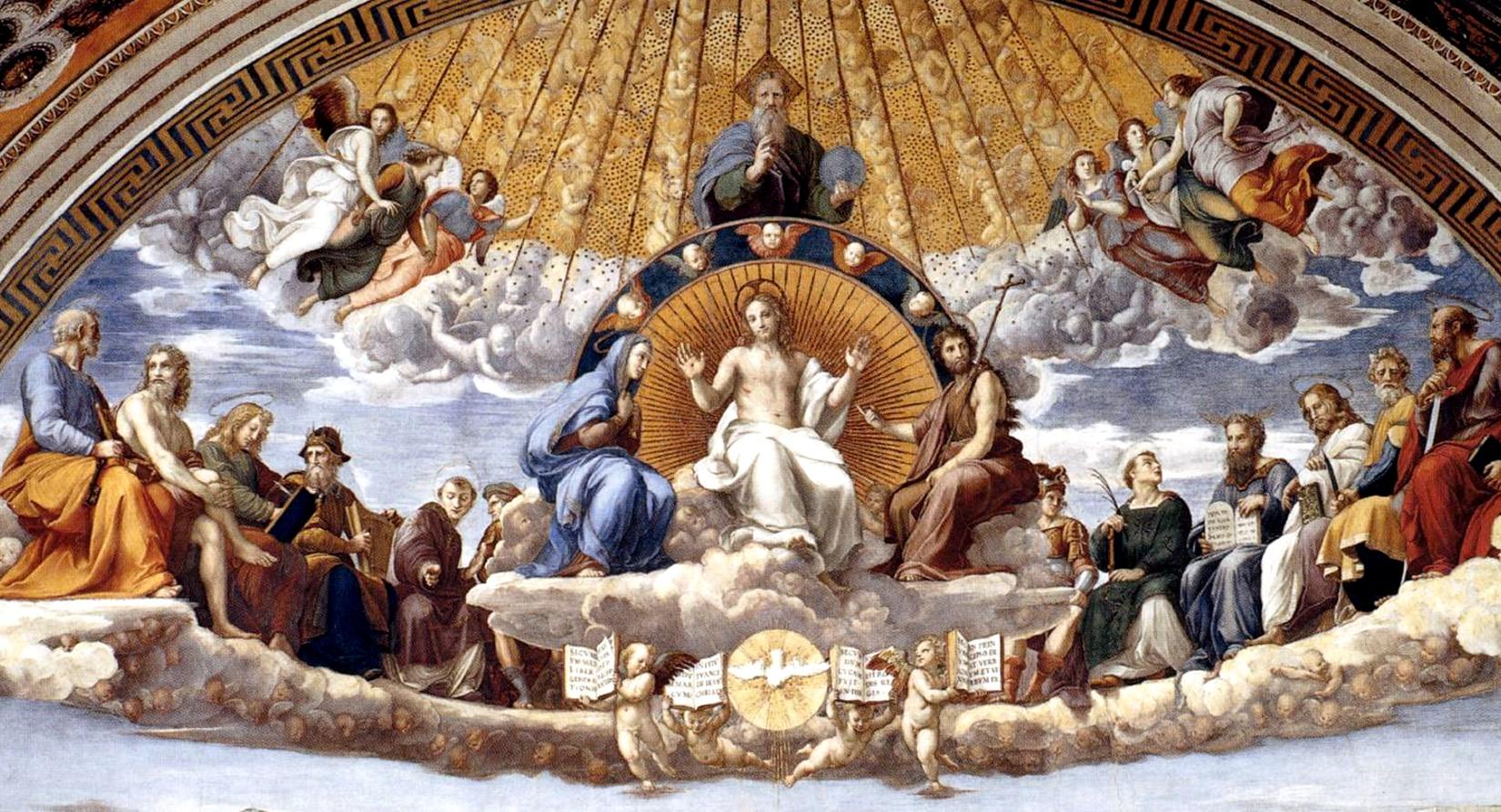 raphael dissertation of the holy sacrament